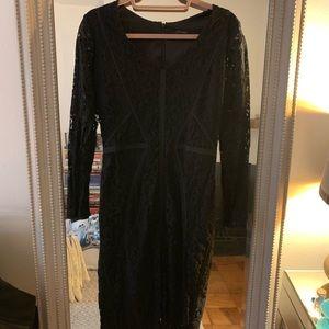 Ann Taylor Dresses - Ann Taylor black lace dress.